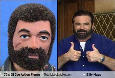 70's GI Joe Action Figure Totally Looks Like Billy Mays