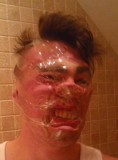 Sellotape Selfies are the Latest Internet Craze