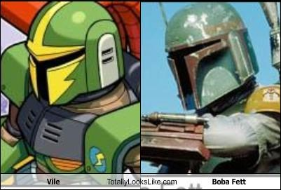boba fett,mega man,movies,star wars,video games,vile