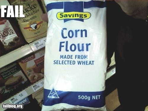 Ingredient Fail