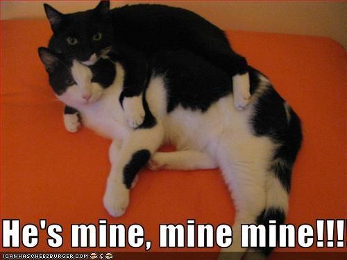 He's mine, mine mine!!!!