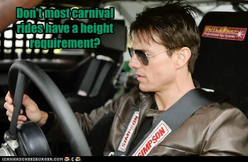 Carnival,race cars,scientology,short,Tom Cruise