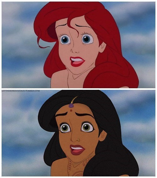 Alternate Race Disney Princesses Bring a New Perspective