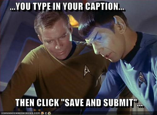 """...YOU TYPE IN YOUR CAPTION...          THEN CLICK """"SAVE AND SUBMIT""""..."""