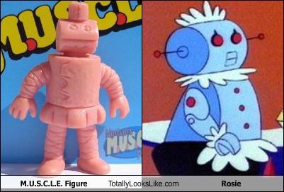 M.U.S.C.L.E. Figure Totally Looks Like Rosie