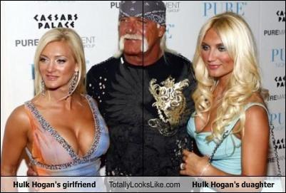daughter,girlfriend,Hulk Hogan,wrestler