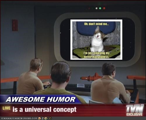 AWESOME HUMOR - is a universal concept