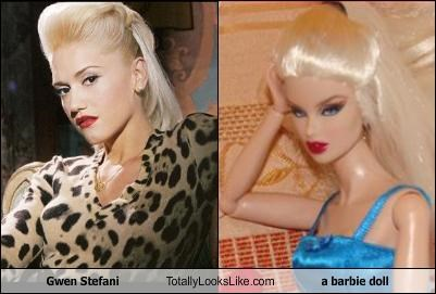 Gwen Stefani Totally Looks Like a barbie doll