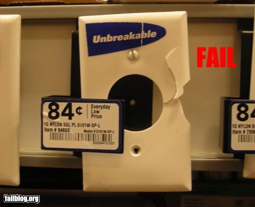 Unbreakable Fail