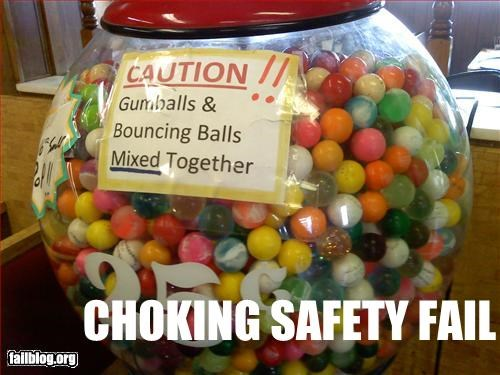 Gumball Machine Fail