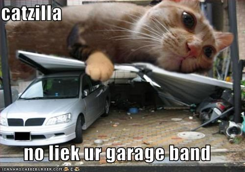 catzilla  no liek ur garage band