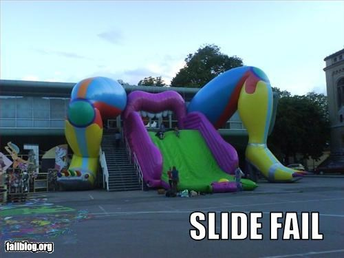 Kid's Slide Fail
