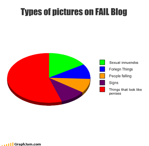 Types of pictures on FAIL Blog