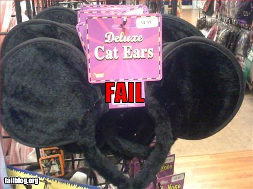 Cat Ear Fail