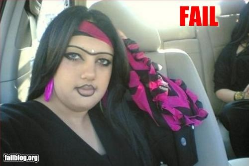 Eyebrow Fail