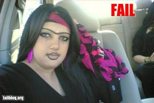 Eyebrow Fail