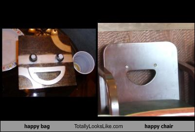happy bag Totally Looks Like happy chair