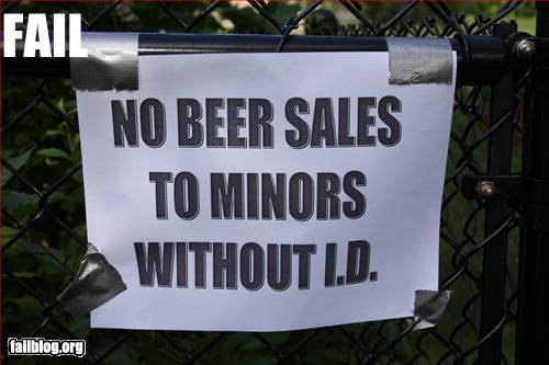 Sale to Minors Fail