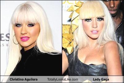 Christina Aguilera Totally Looks Like Lady Gaga