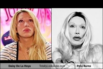 Daisy De La Hoya Totally Looks Like Pete Burns