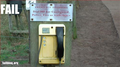 Emergency Phone Fail
