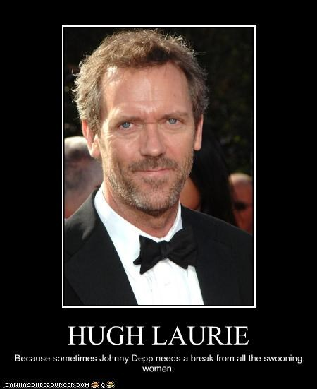 House MD,hugh laurie,Johnny Depp,sexy Brits,TV