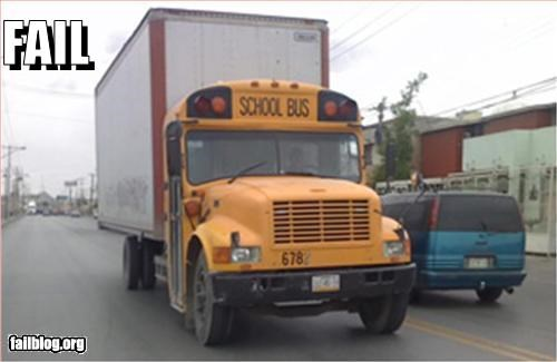 School Bus Fail