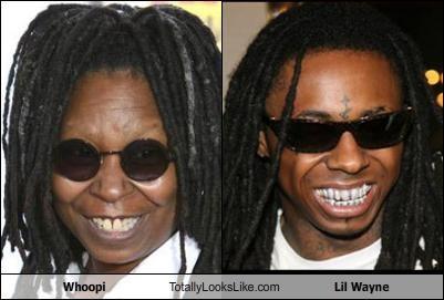 Whoopi Totally Looks Like Lil Wayne