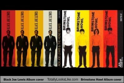 Black Joe Lewis Album cover Totally Looks Like Brimstone Howl Album cover
