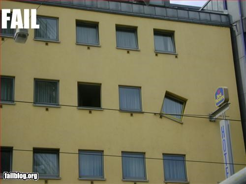 Best Western Window Fail