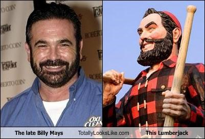 The late Billy Mays Totally Looks Like This Lumberjack
