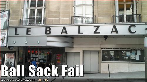 Ball Sack Fail