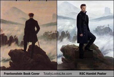 Frankenstein Book Cover Totally Looks Like RSC Hamlet Poster