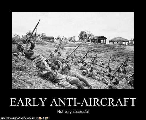EARLY ANTI-AIRCRAFT