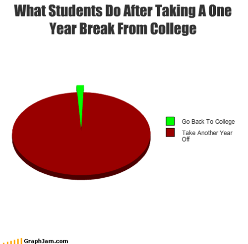 What Students Do After Taking A One Year Break From College