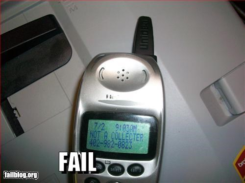 Telemarketing Fail