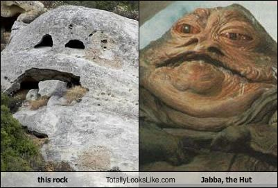 this rock Totally Looks Like Jabba, the Hut