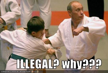 martial arts,president,prime minister,russia,Vladimir Putin,vladurday
