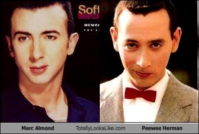 Marc Almond Totally Looks Like Peewee Herman