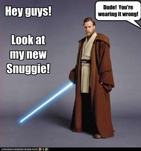 Hey guys!  Look at my new Snuggie!