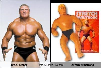 Brock Lesnar,mma,sports,stretch armstrong,ultimate fighting,wrestler