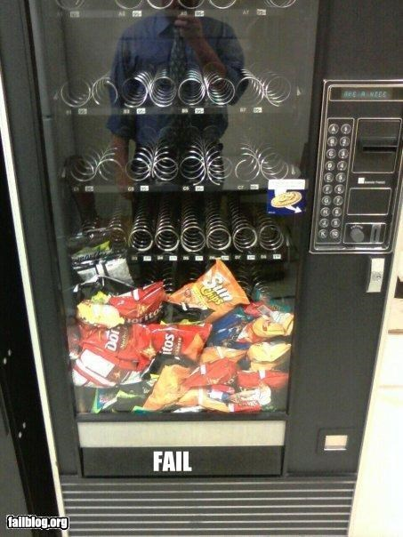 Vending Machine Fail