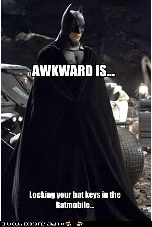 AWKWARD IS...