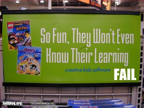 Edutainment Fail