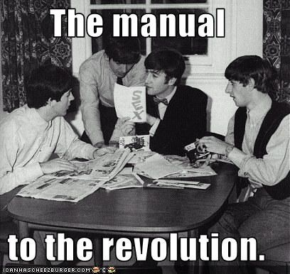 The manual   to the revolution.