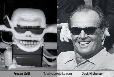 Frozen Grill Totally Looks Like Jack Nicholson