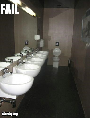 Bathroom Design Fail