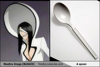 Nnoitra Jiruga (BLEACH) Totally Looks Like A spoon