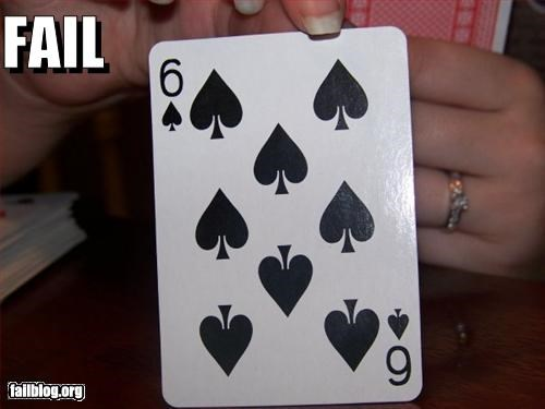 six of spades fail