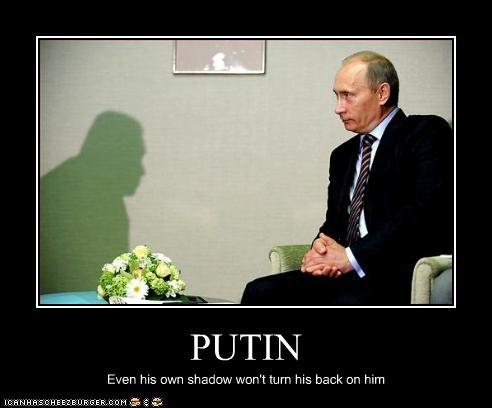 president,prime minister,russia,shadow,Vladimir Putin,vladurday